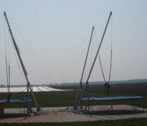 Bungee trampoline 2 persoons